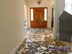 residential tile removal fort worth, texas