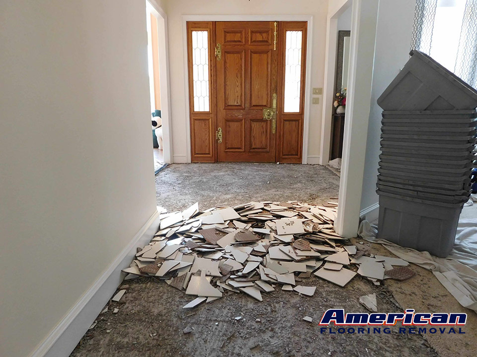 Dallas Fort Worth Tx Best Dust Free Tile Removal Company American