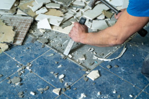 Tile Removal Service in Ponder