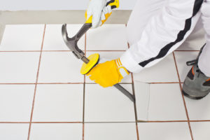 Dust Free Tile Removal in Trophy Club