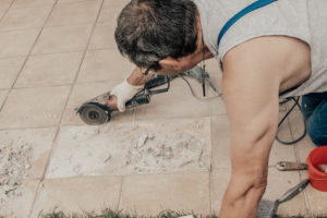 The Dangers of Tile Dust