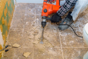 The Easy Tile Removal Process